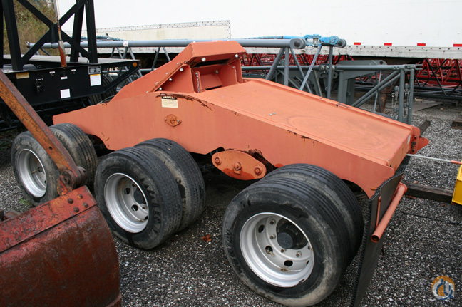 Oldbury 3 Axle Dolly Boom Dolly Crane Part for Sale in Cleveland Ohio on CraneNetworkcom