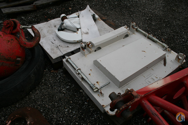 Tadano 1.0 t counterweight Auxiliary Hoist Counterweight Counterweights Crane Part for Sale in Cleveland Ohio on CraneNetwork.com