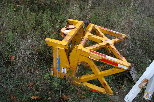 Nelson 75 T Old Style Boom Dolly Top Boom Dolly Crane Part for Sale in Cleveland Ohio on CraneNetworkcom