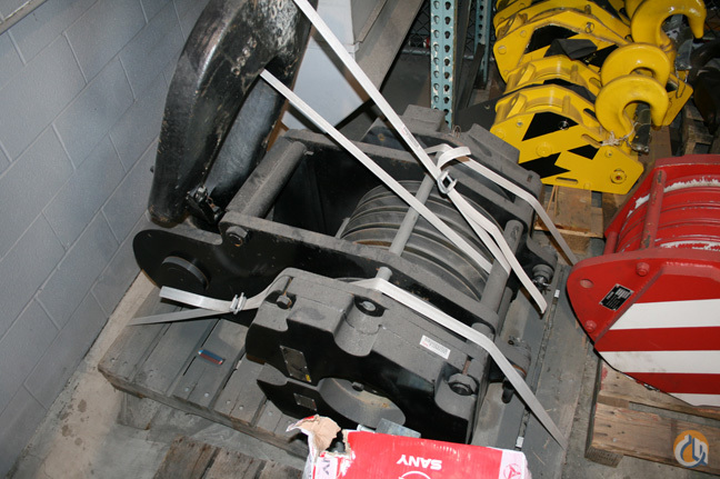 Johnson PA00073 Hook Block Crane Part for Sale in Cleveland Ohio on CraneNetworkcom