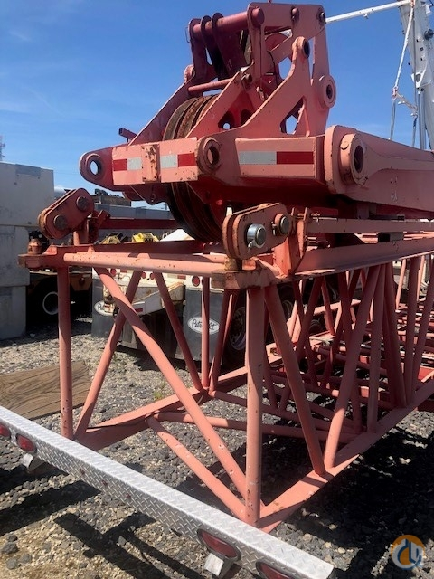 Manitowoc Manitowoc 777 Long Reach Tip wtrailer Boom Tip Extension  Crane Part for Sale on CraneNetwork.com