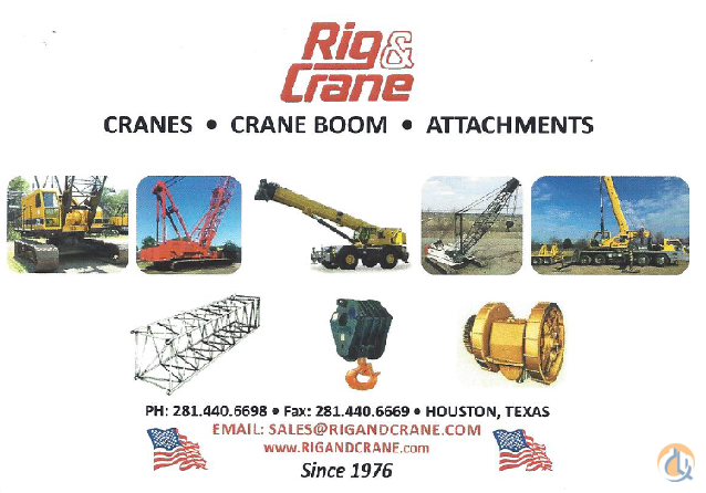 Manitowoc MANITOWOC BOOM JIB Jib Sections  Components Crane Part for Sale in Houston Texas on CraneNetwork.com