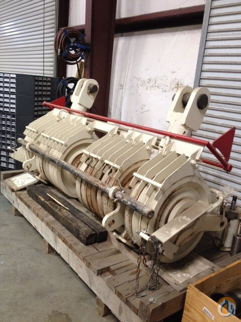 Demag Roller Assembly Sheaves  Crane Part for Sale in McDonough Georgia on CraneNetworkcom