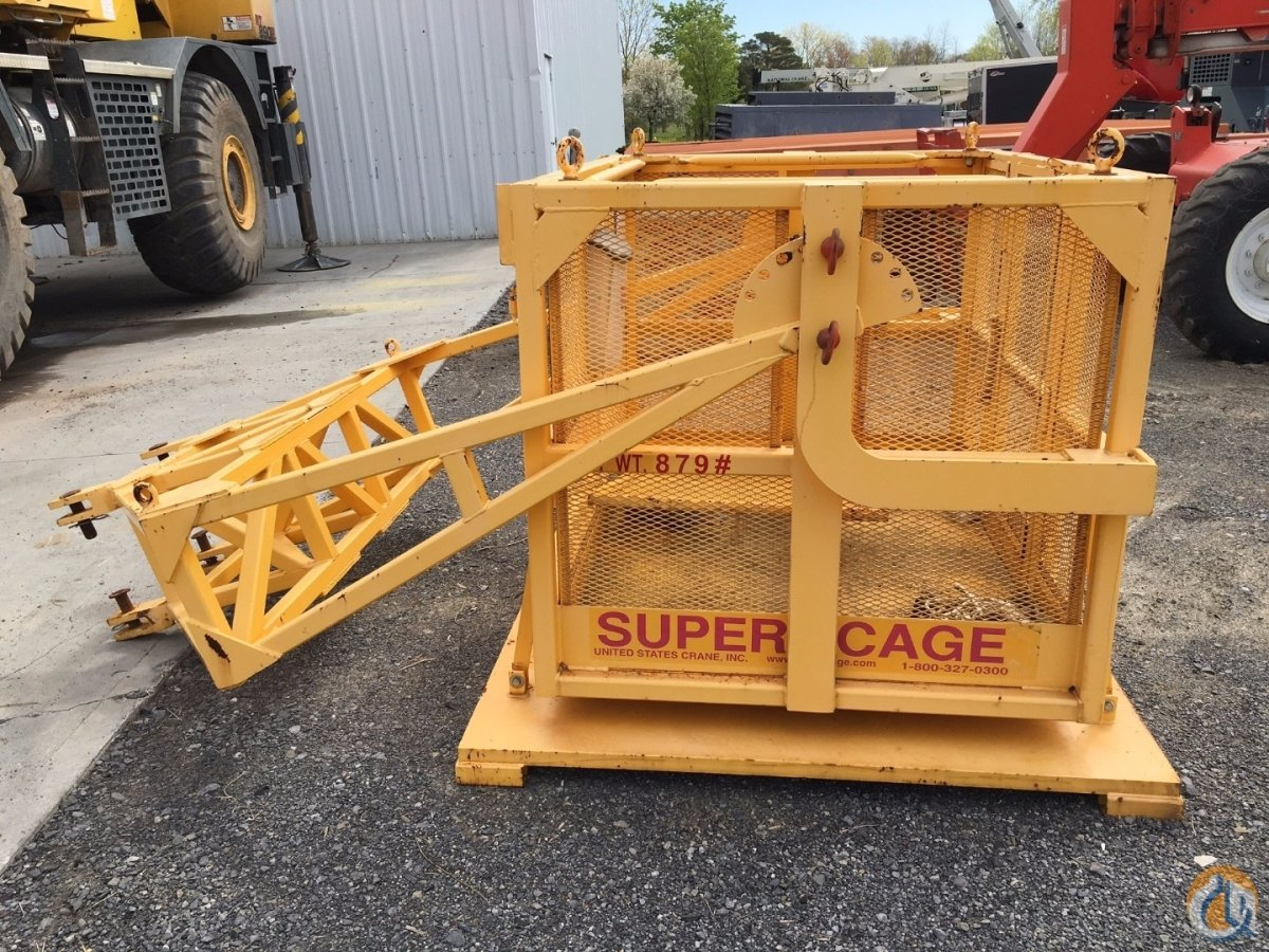 Supercage 2010 Super Cage DFA-110 Man Baskets Crane Part for Sale in Syracuse New York on CraneNetwork.com