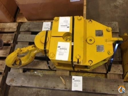 Gunnebo Johnson 30 Ton - 3 Sheave - 58 Hook Block Crane Part for Sale in Syracuse New York on CraneNetwork.com