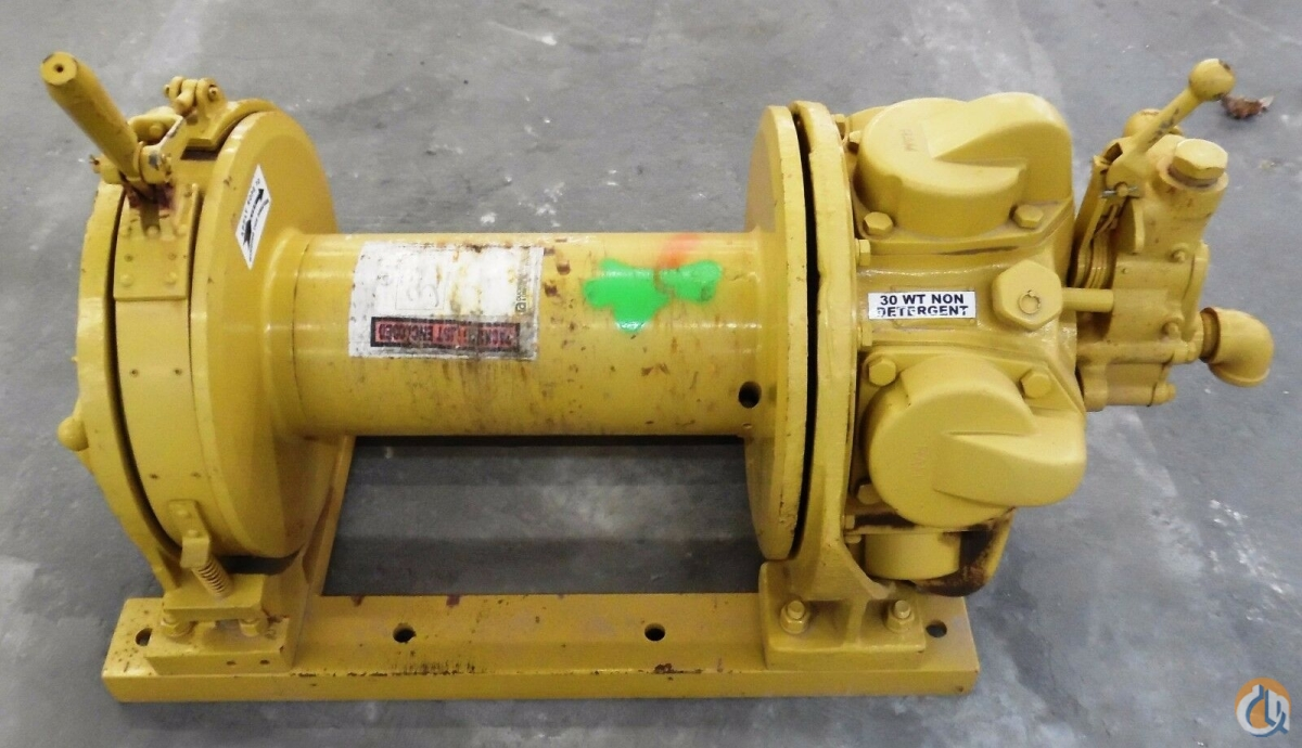 Ingersoll Rand INGERSOLL RAND K5UL AIR TUGGER WINCH 5000 LBS CAPACITY HoistsWinches Crane Part for Sale in Coffeyville Kansas on CraneNetwork.com