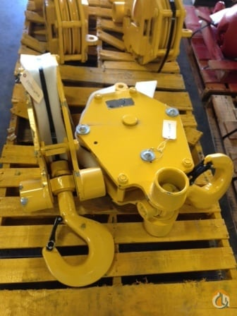 Gunnebo Johnson 20 Ton Hook Block Hook Block Crane Part for Sale in New York Oklahoma on CraneNetworkcom