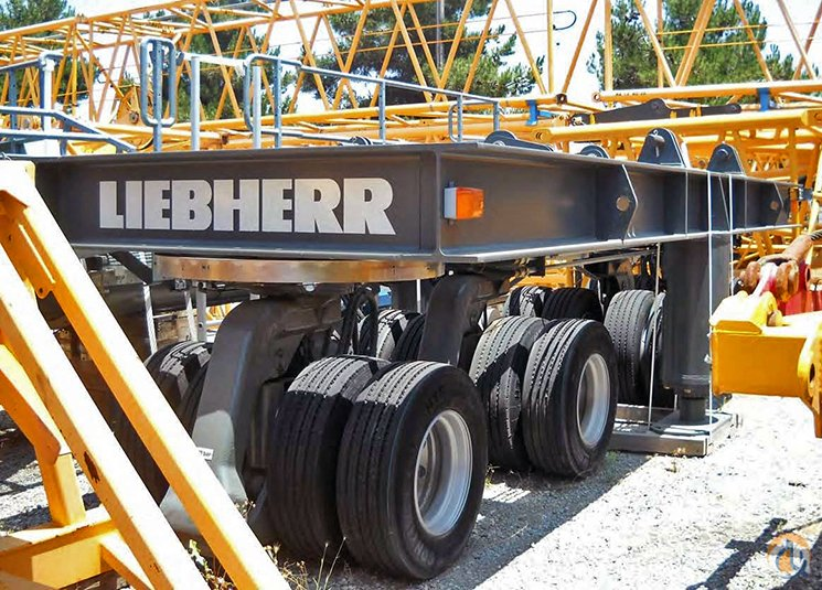 Liebherr Liebherr LR1300 Ballast WagonSuperlift CWT Carriage - Like New  Heavy Lift Attachments Crane Part for Sale in Las Vegas Nevada on CraneNetwork.com