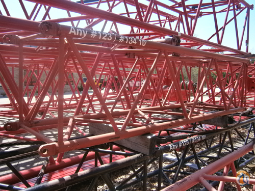Manitowoc 123134 10039 Jib Inserts Jib Sections  Components Crane Part for Sale on CraneNetworkcom