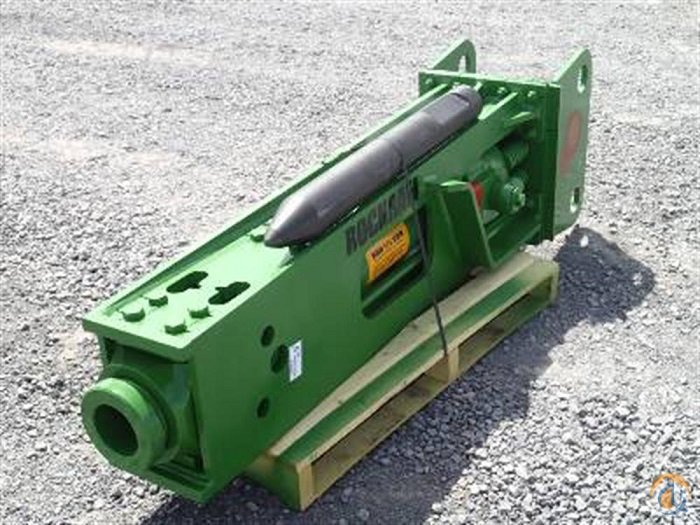 Rockram 2015 ROCKRAM VR850 Hydraulic Rock Hammer Buckets Drag Clam Concrete Crane Part for Sale in Houston Texas on CraneNetwork.com