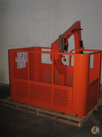 Fits Most Cranes Boomtrux 2 Man Rotating Workplatform Man Baskets Crane Part for Sale on CraneNetwork.com