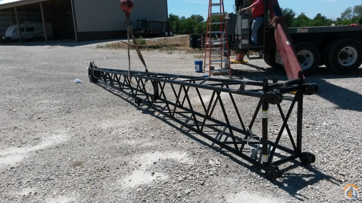 Link-Belt Swing Away Jib Tip Section Jib Sections  Components Crane Part for Sale on CraneNetworkcom
