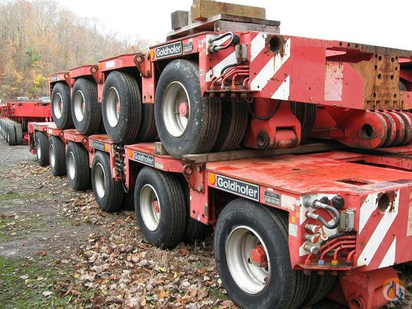 Goldhofer 1993 GOLDHOFER THPH PLATFORM TRAILERS Trailers Crane Part for Sale on CraneNetwork.com