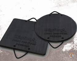 Bigfoot 2 Inch Round Bigfoot outrigger pads Outrigger Mats Pads and Cribbing Crane Part for Sale on CraneNetwork.com