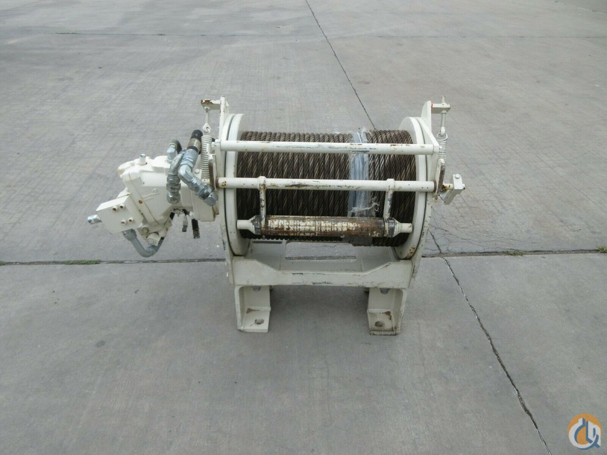 Braden BRADEN GEARMATIC WINCH PD15B-SPL-34V061031-06UG GROOVED DRUM 15OOO lbs Winches  Drums Crane Part for Sale in Coffeyville Kansas on CraneNetwork.com