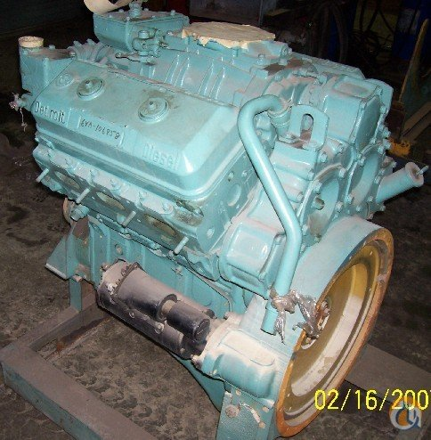 Detroit Diesel Detroit Diesel 6V71 - Used running condition Engines  Transmissions Crane Part for Sale in Cleveland Ohio on CraneNetwork.com