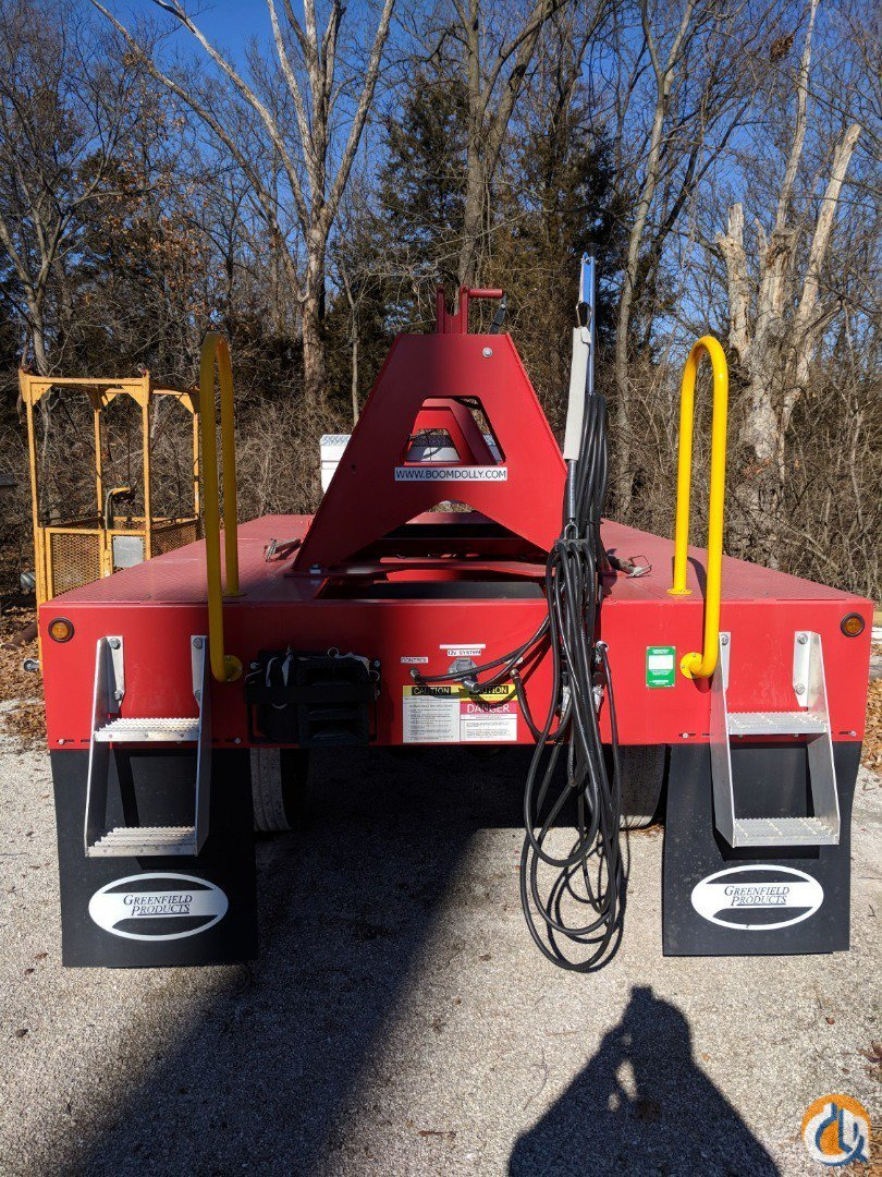 Greenfield Products 2015 Greenfield Products 2-Axle Boom Dolly System - 45000lb GVWR Boom Dolly Crane Part for Sale in Wentzville Missouri on CraneNetwork.com