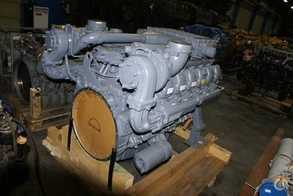 MAN MAN NEW FACTORY ENGINES Engines  Transmissions Crane Part for Sale on CraneNetwork.com