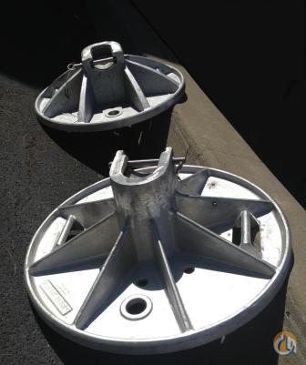 Terex New Outrigger Pads Outriggers and Shoes Crane Part for Sale in Syracuse New York on CraneNetwork.com