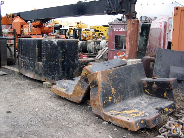 American American Side Counterweights Crane Part for Sale on CraneNetwork.com