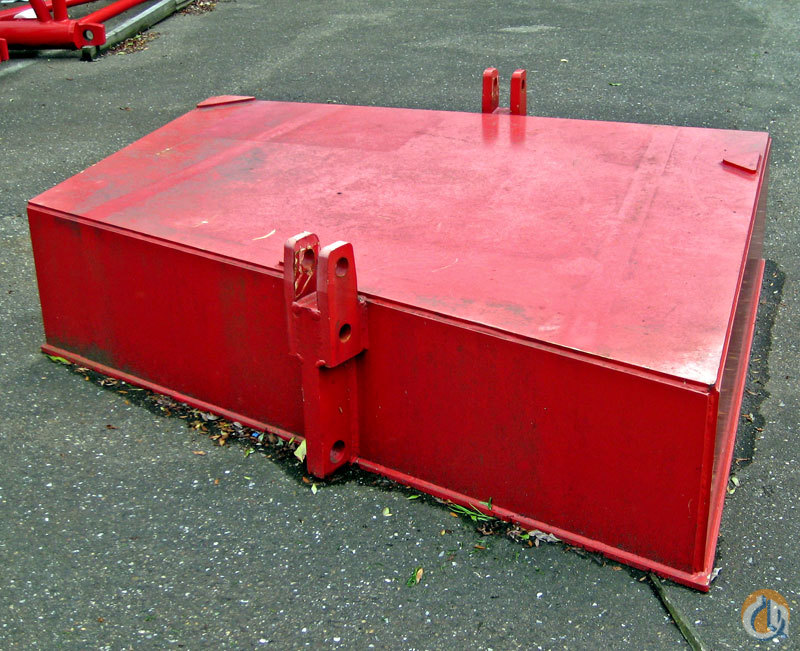 Manitowoc 2x 9.1 ton cwt slab Manitowoc 2250 Counterweights Crane Part for Sale on CraneNetwork.com