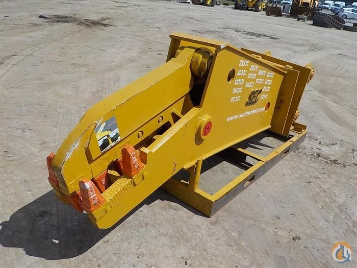 SEC Unused SEC Hydraulic Rotation Concrete Crusher Buckets Drag Clam Concrete Crane Part for Sale in Houston Texas on CraneNetworkcom
