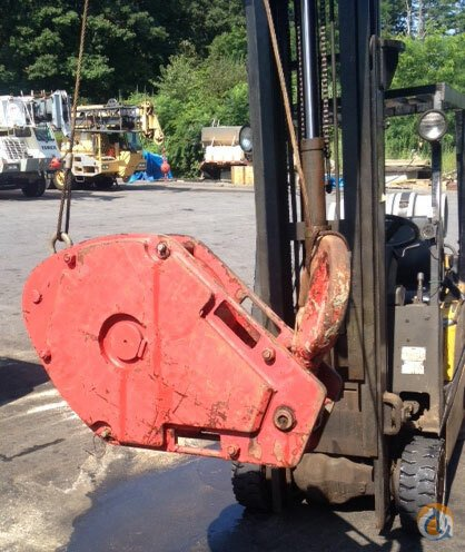 Grove 3 4 Single Sheave Quick Reeve Hook Block Crane Part