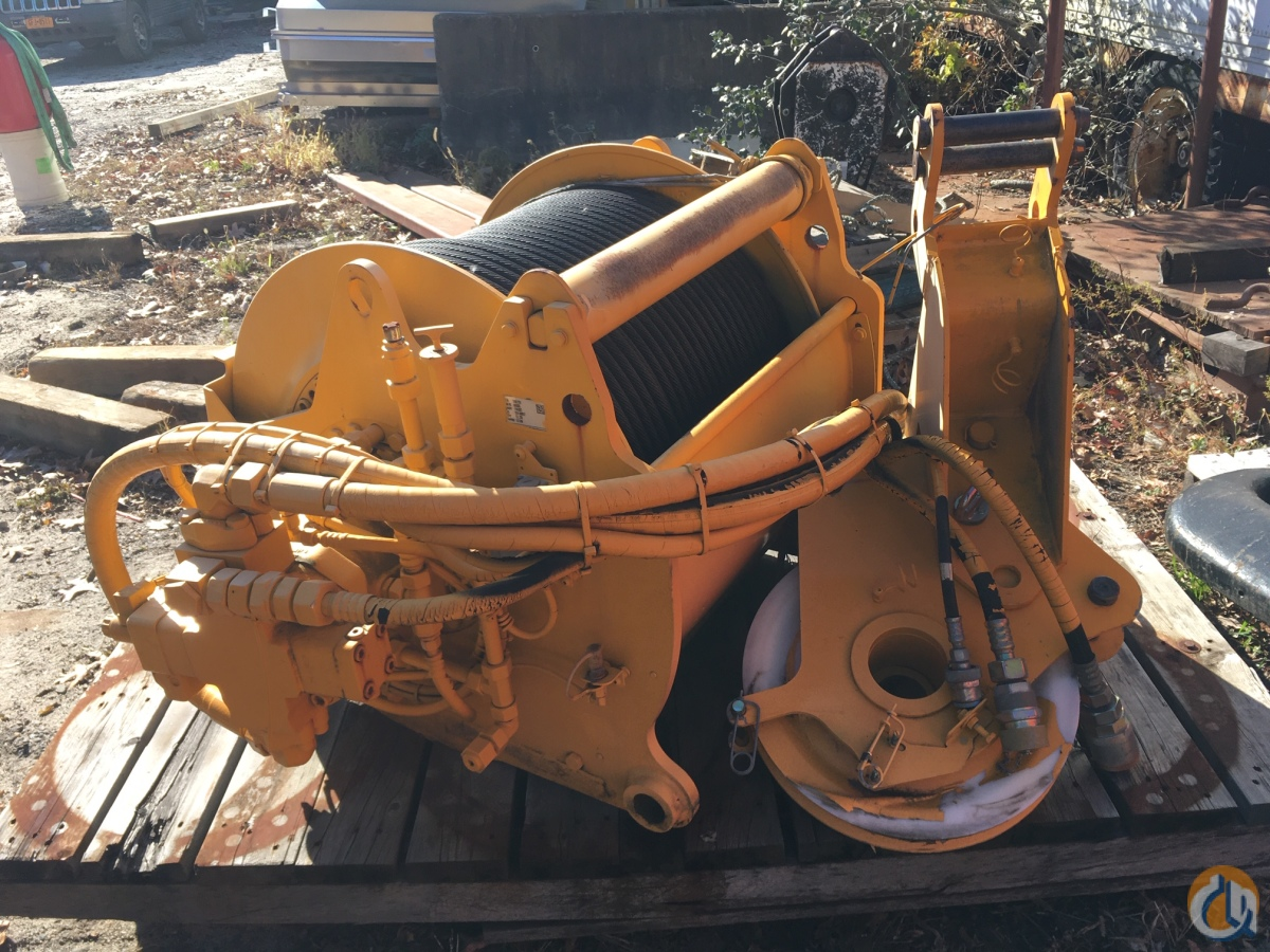 Liebherr Liebherr Aux Winch Winches  Drums Crane Part for Sale in Westhampton Beach New York on CraneNetwork.com