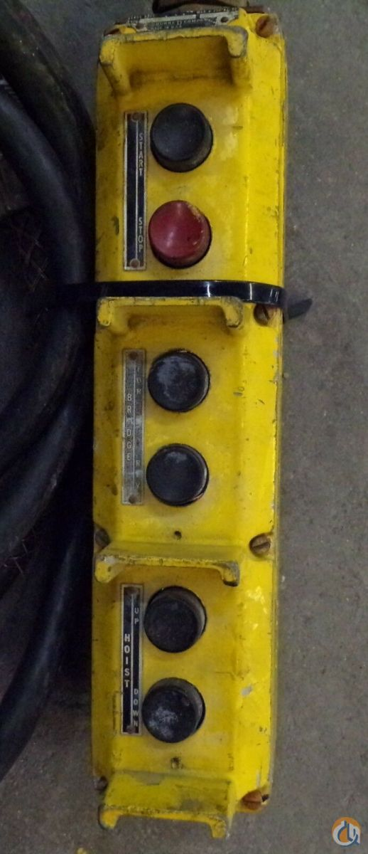 Jet Electric JET ELECTRIC CHAIN HOIST 5 TON 10FT. LIFT PHASE 3 TYPE 5BS 1.34 HP 460 VOLTS HoistsWinches Crane Part for Sale in Coffeyville Kansas on CraneNetwork.com