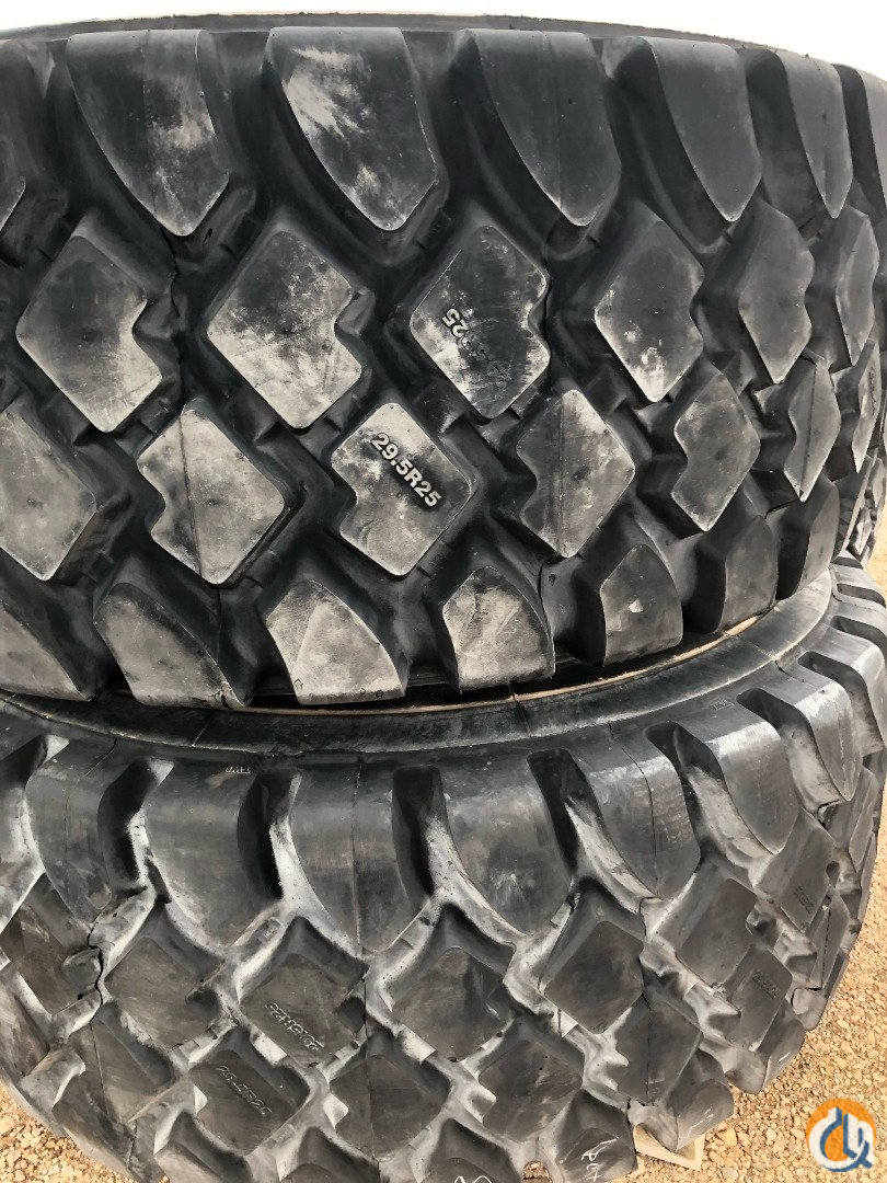 Terex 33.25 x 29 Tires for Sale Tires Crane Part for Sale in Syracuse New York on CraneNetwork.com