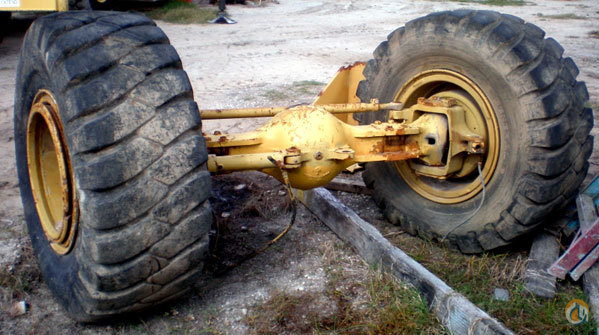 Grove Grove RT528C Rear Axle Assembly AxleDriveline Crane Part for Sale on CraneNetwork.com