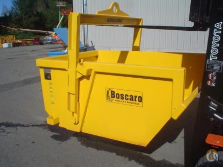 Boscaro Boscaro Self Dumping Bin 2010 Buckets Drag Clam Concrete Crane Part for Sale in Abbotsford British Columbia on CraneNetwork.com
