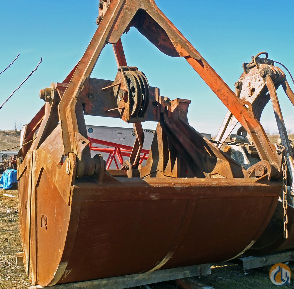 Other CLAM BUCKET Buckets Drag Clam Concrete Crane Part for Sale on CraneNetworkcom