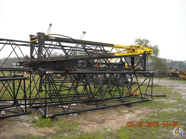Link-Belt LINK BELT LS98  108 Boom Sections Crane Part for Sale on CraneNetwork.com