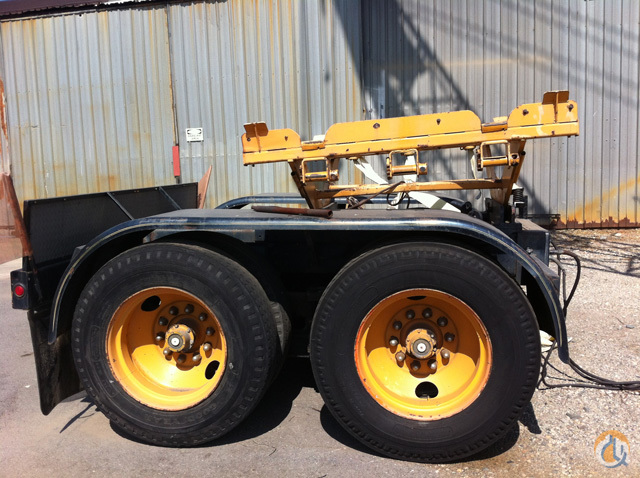 PampH PampH 9150TC 2 Axle Boom Dolly Boom Dolly Crane Part for Sale in Long Beach California on CraneNetworkcom