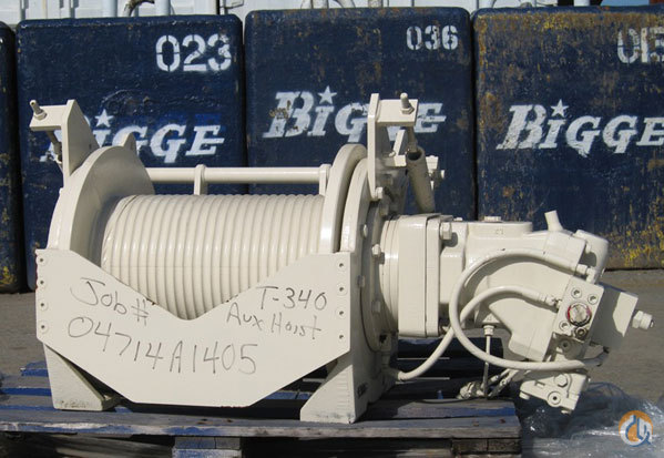 Terex Terex RT and Truck Crane Aux Winches Winches  Drums Crane Part for Sale in San Leandro California on CraneNetworkcom