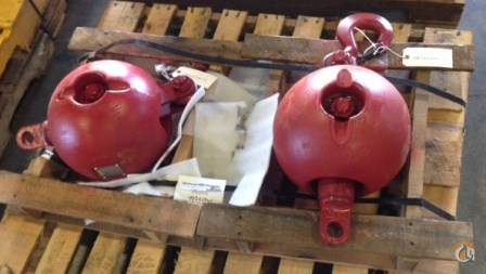 Gunnebo Johnson 7 Ton Overhaul Ball Overhaul Hook Balls Crane Part for Sale in New York New York on CraneNetwork.com