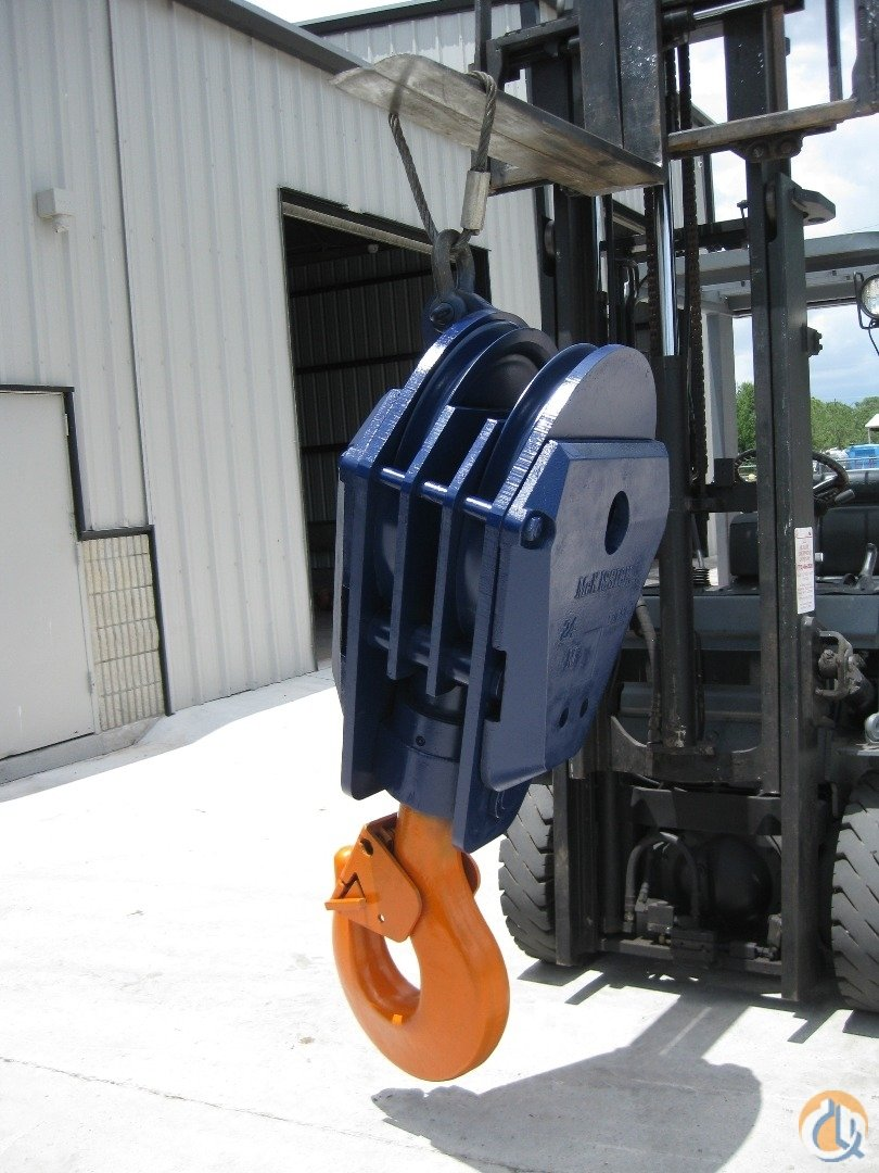 McKissick 75 Ton Block Hook Block Crane Part for Sale in Fort Pierce Florida on CraneNetwork.com