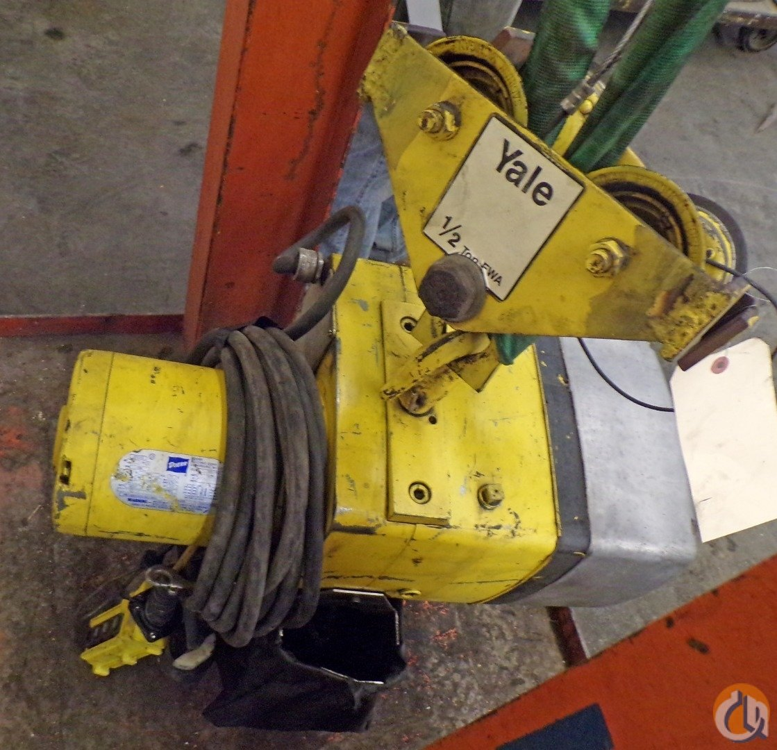 Yale YALE ELECTRIC CHAIN HOIST 12 TON KEL 12-10TH15S1 1 HP 3 PH WITH TROLLEY HoistsWinches Crane Part for Sale in Coffeyville Kansas on CraneNetwork.com