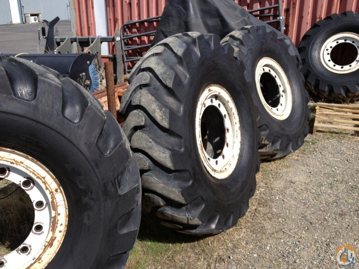 Toyo Tires Toyo Crane Tires 3200 Tires Crane Part for Sale in Ketchum Idaho on CraneNetworkcom