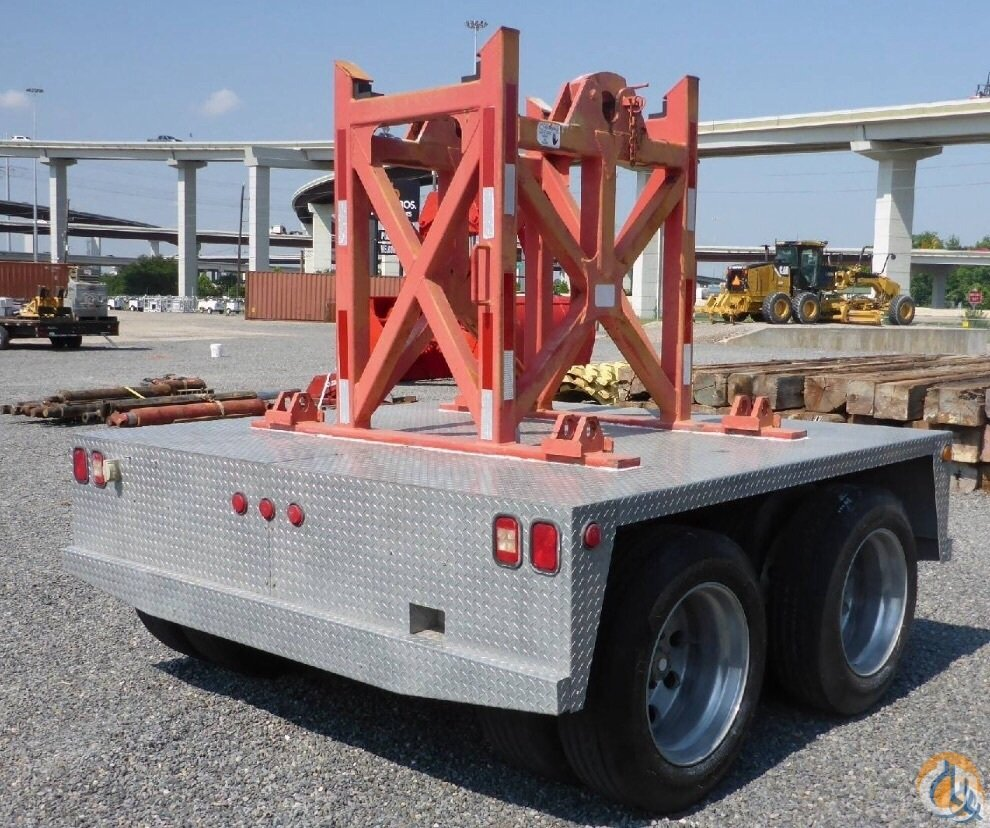 LINKBELT NELSON TWO AXLE DOLLY BUILT FOR 8670 and 8675 Boom Dolly Crane Part for Sale in Fort Pierce Florida on CraneNetwork.com