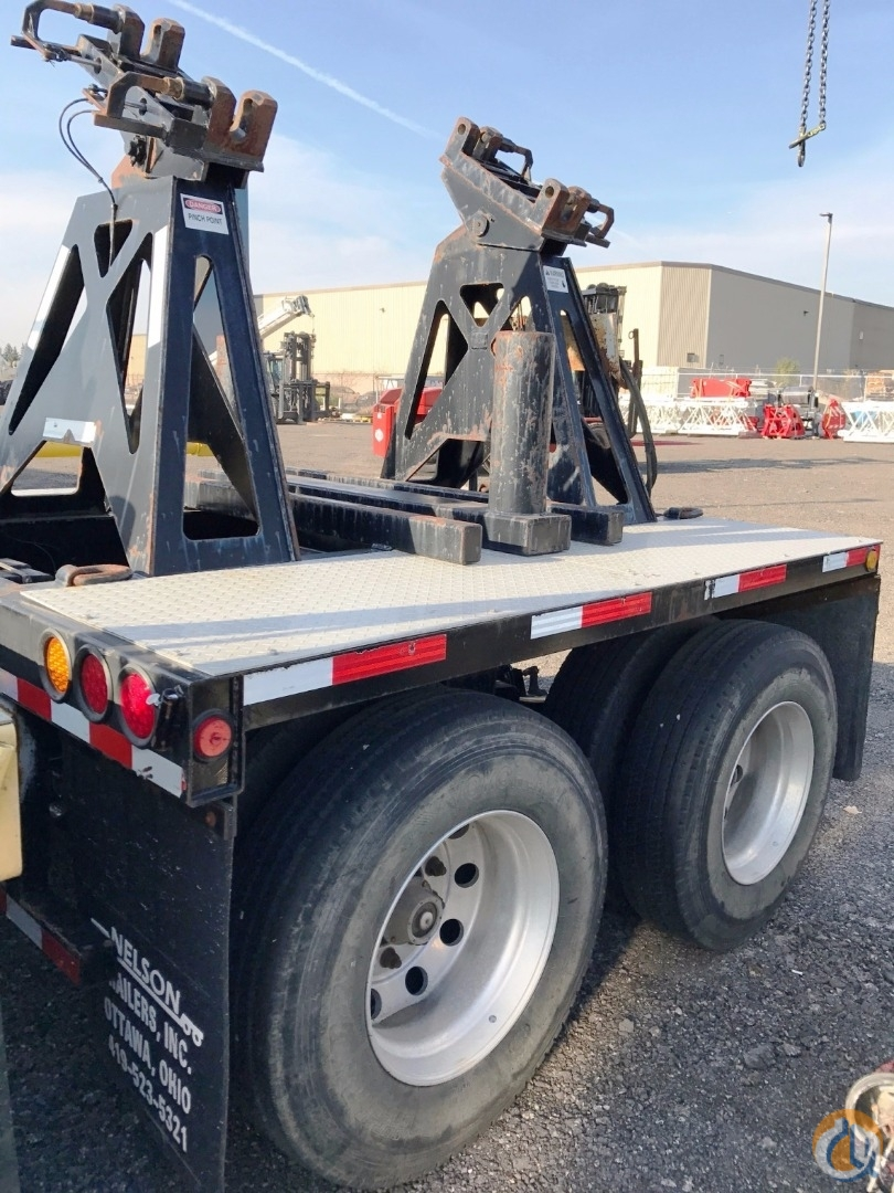 Nelson 2009 Nelson CBC-20ST Dual Axle Boom Dolly Boom Dolly Crane Part for Sale in Oakville Ontario on CraneNetworkcom