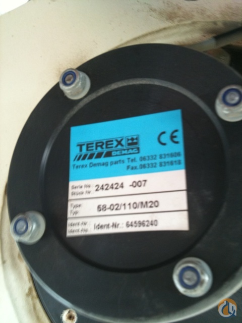 Terex-Demag New Winch Winches  Drums Crane Part for Sale on CraneNetworkcom