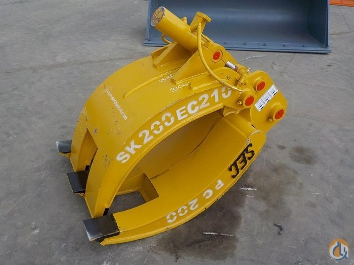 SEC SEC Hydraulic Grapple to suit CAT416 Buckets Drag Clam Concrete Crane Part for Sale in Houston Texas on CraneNetworkcom