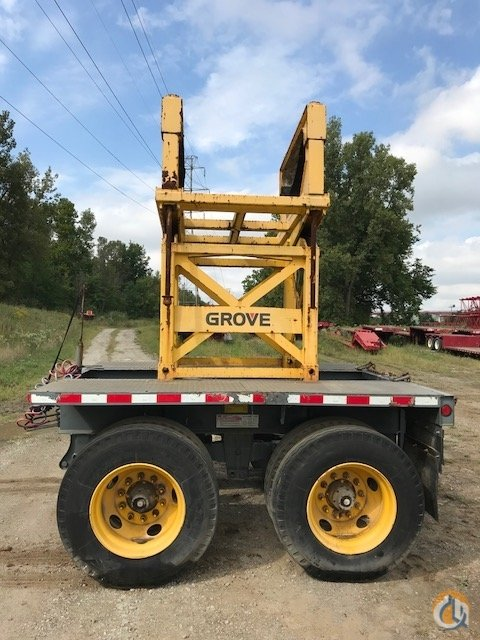 Nelson 2 Axle Nelson Boom Dolly Boom Dolly Crane Part for Sale in Cleveland Ohio on CraneNetwork.com