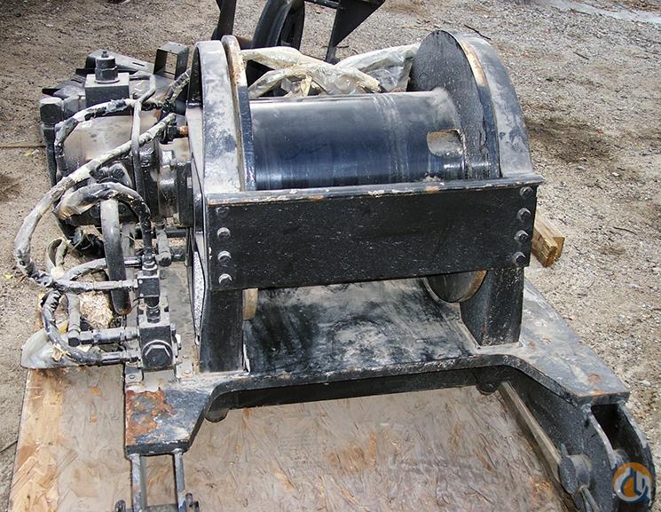 Spare Parts Link Belt Crane : Link belt rd drum winches drums crane part