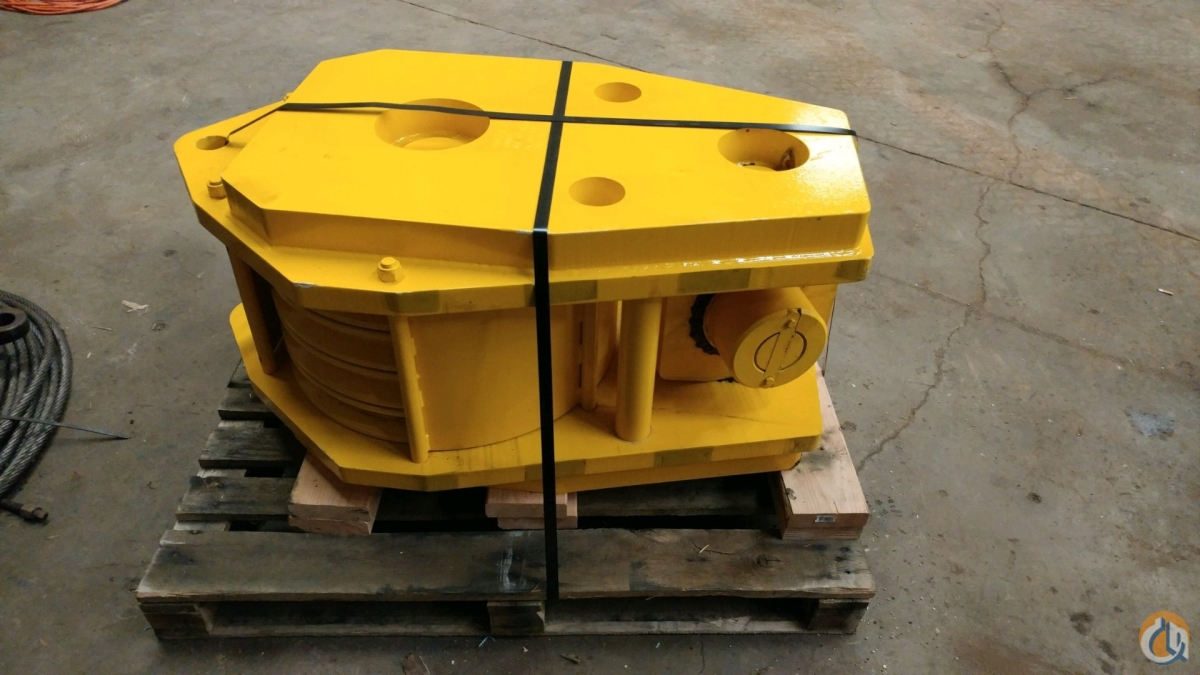 RopeBlock Rope-Block Hook Block Hook Block Crane Part for Sale in Bridgewater New Jersey on CraneNetwork.com