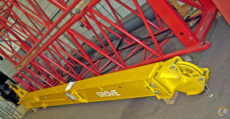 Grove 79 meter swingaway Grove RT 530  540 Jib Sections  Components Crane Part for Sale on CraneNetworkcom