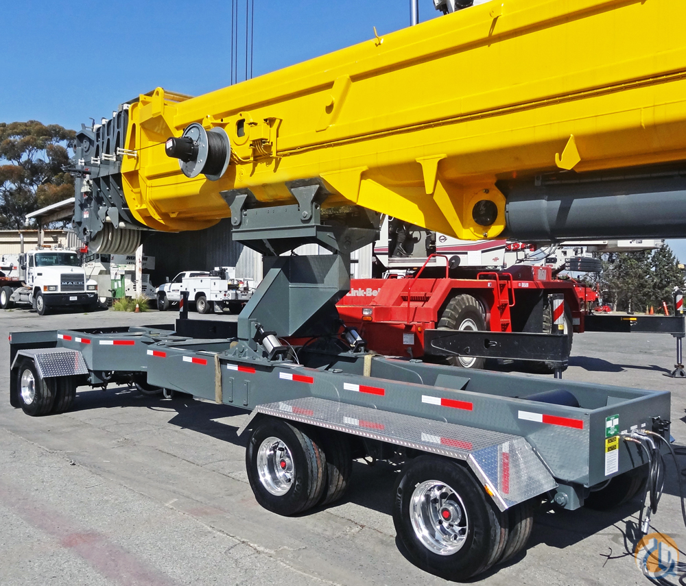 Greenfield Products Wide-Spread 3-Axle Boom Dolly Boom Dolly Crane Part for Sale in Union City Tennessee on CraneNetwork.com