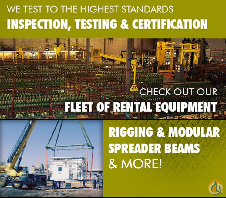 Various Rental Rigging Gear Rigging Crane Part for Sale in Bridgeview Illinois on CraneNetwork.com